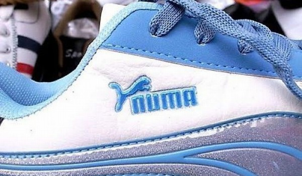 Not all knockoffs are as easy to spot as these phony Puma shoes. (Photo courtesy ‪phandroid.com‬)