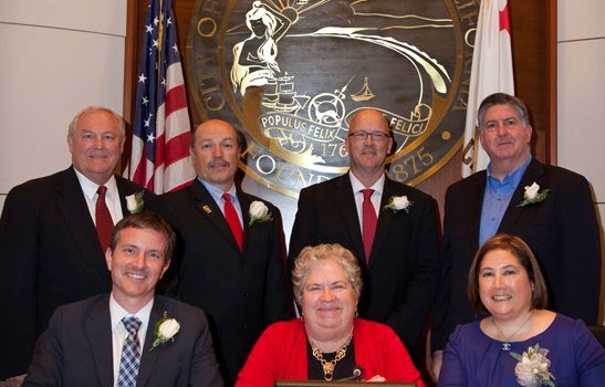 The Santa Monica City Council. (Photo courtesy smgov.net)