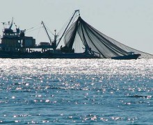 EXPANDING: The next frontier in sprawl may be on the high seas, where the proliferation of fishing, shipping, tourism, resource extraction, energy development, military exercises and other human activity has begun to call into question just how vast our oceans really are. Pictured: a fishing trawler on the high seas. (Photo courtesy Jon Anderson/Flickr)