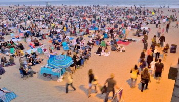 CHANGING: Music fans who watch the Twilight Concert Series from the sand are in for changes. (Brandon Wise brandonw@smdp.com)