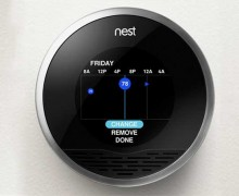 Navigant Research reports that the number of smart thermostats in operation around the world will jump from 1.4 million currently installed to some 32 million by 2020. These kinds of numbers will help utilities meet or exceed energy efficiency goals regardless of other upgrades on their power plants. (Photo courtesy The Nest)