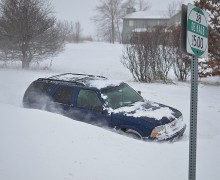 The harsh winter we are having shouldn't be viewed as a refutation of global warming, but rather as further evidence of a growing problem. Pictured: Trying to get around in Cortland, Ill. on Jan. 4, 2014. (Michael Kappel, courtesy Flickr)