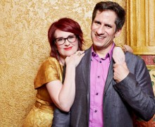 LIVE IN SANTA MONICA: Megan Mullally and Seth Melbourne are all about Broadway. (Photo courtesy Kurt Sneddon)