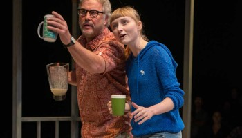 William Petersen and Rae Gray star in 'Slowgirl.' (Photo by Michael Brosilow)