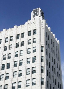 Tech company GumGum calls the famous Clock Tower home. (Daniel Archuleta daniela@smdp.com)