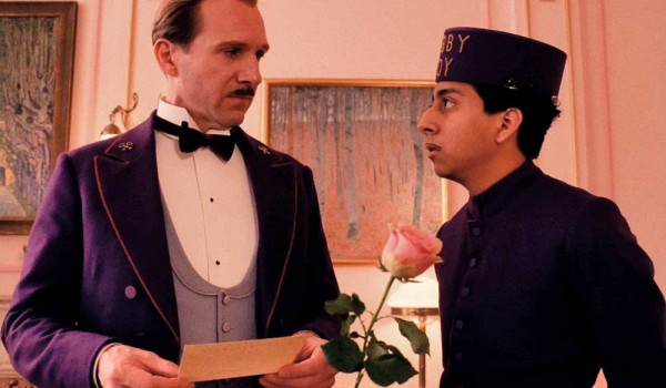 Ralph Fiennes and Tony Revelori in 'The Grand Budapest Hotel.'