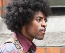Andre 3000 stars in 'Jimi: All Is by My Side,' as the legendary rocker.