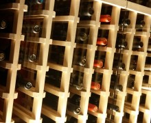 DRINK UP: Del Frisco's Grille has an extensive wine list with bottles lining the walls. (Kevin Herrera kevinh@smdp.com)