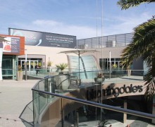 This is the site at Santa Monica Place of the proposed ArcLight theater. (File photo)