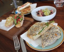 YUM! Ciboteca appears to be unafraid of being located blocks from Bay Cities Deli. (Michael Ryan editor@smdp.com)