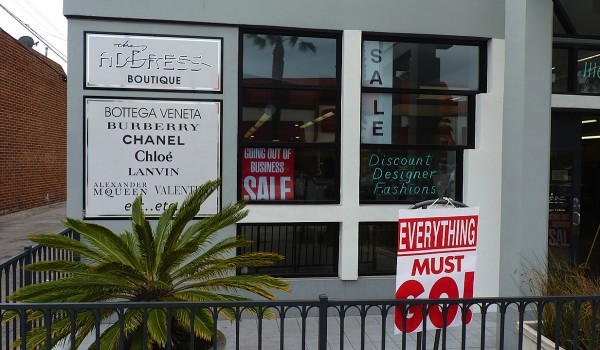 CLOSING SHOP: After 28 years, the Address Boutique will be closing in mid-May. (Photo courtesy Bruno Marcotulli)