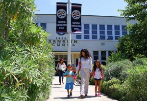 Franklin Elementary School (Daniel Archuleta daniela@smdp.com)