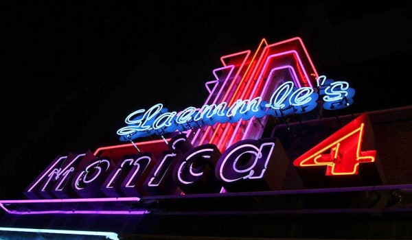 INDIE JOINT: The Leammle's Monica 4 on Second Street specializes in independent films. (Photo courtesy Laemmle Charitable Foundation)
