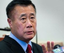 State Sen. Leland Yee (D-San Francisco) has been charged with public corruption as part of a major FBI operation spanning the Bay Area, law-enforcement sources said, casting yet another cloud of corruption over the Democratic establishment in the Legislature and torpedoing Yee's aspirations for statewide office.(Randall Benton/Sacramento Bee)