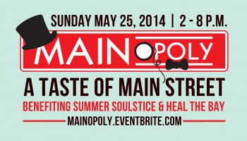 The inaugural Mainopoply event will raise money for Heal the Bay.