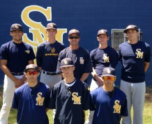 END OF THE LINE: Santa Monica High School's baseball team was dispatched by Peninsula on Tuesday. (Photo courtesy Kurt Schwengel)