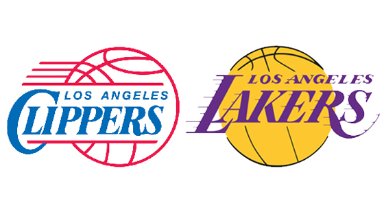 Clippers-Lakers-logos-3