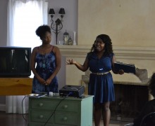 YWCA alumni spoke at the May 29 event.