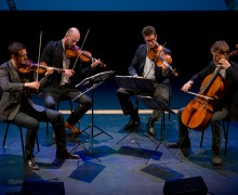 The Calder Quartet will be in residence at the venue and will participate in several educational programs.