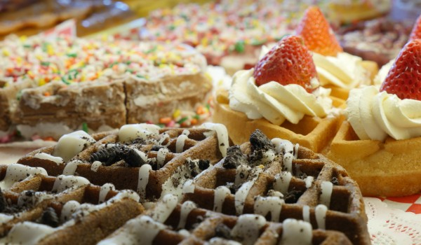 The Wownut is a cross between a waffle and a donut