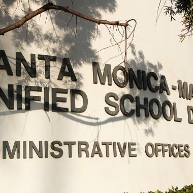 The Santa Monica-Malibu Unifed School District is located on 16th Street.