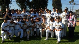 Samohi's baseball team. (Courtesy Kurt Schwengel)