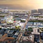 FUTURE: This image depicts what a new development on Arizona Avenue (left) will look like. (Rendering courtesy City of Santa Monica)