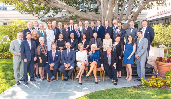 The Santa Monica Chamber of Commerce gathered its incoming Board of Directors for an installation dinner on June 11. (Photo courtesy David Young-Wolf)