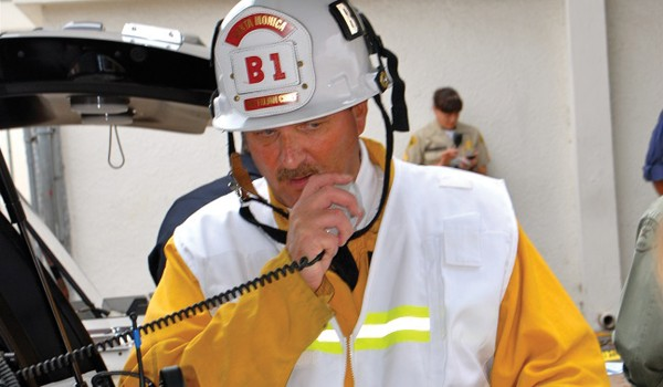 Battalion Chief Mark Bridges