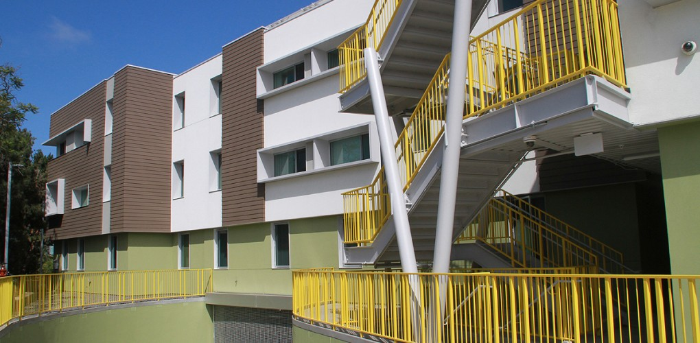 Affordable housing development High Place East was just recently completed. (Daniel Archuleta)