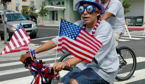 File photo  FESTIVE: Many in the Fourth of July Parade are known to dress up in silly costumes for the occasion. (Fabian Lewkowicz santamonicacloseup.com)