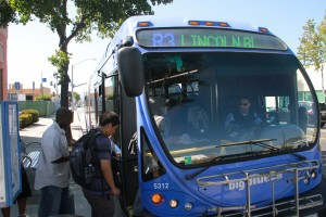 Changes are in the works for the Route 3 bus that travels down Lincoln Boulevard. (Daniel Archuleta)
