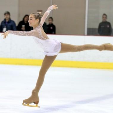 Santa Monica resident Gia Kokotakis, 12, has advanced to the U.S. Figure Skating Championships. (Nick Kokotakis / Free Agent Foto)