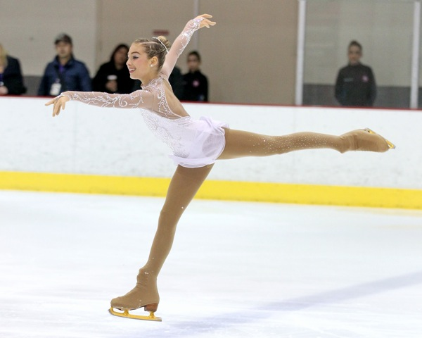 Santa Monica resident Gia Kokotakis, 12, has advanced to the U.S. Figure Skating Championships. (Nick Kokotakis / Free Agent Foto)