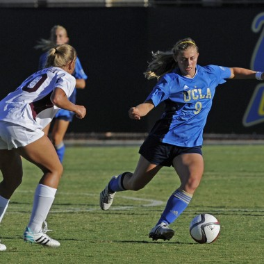 Texas A&M @ UCLA women's soccer scrimmage.
