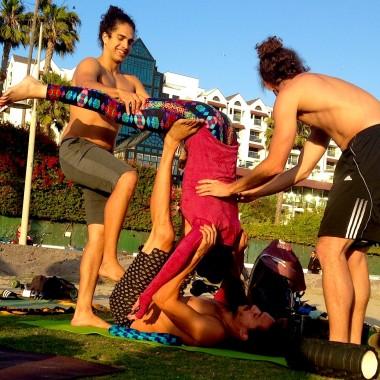 If it's good for Santa Monica Beach, it's good for the LA Angels. Photo by Tony Capobianco