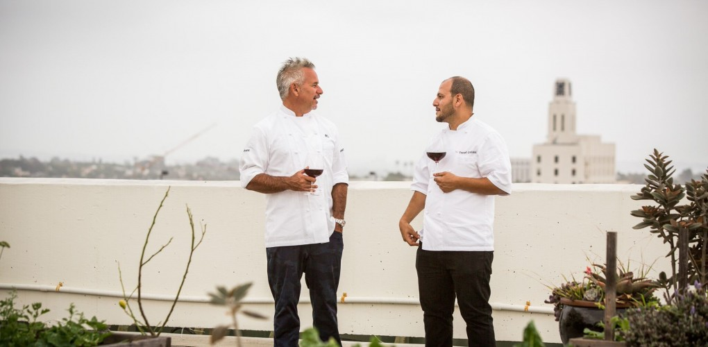 chefs yousef ghalaini and raphael lunetta