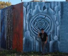 Gus Harper mural 3